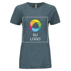 Camiseta CVC de manga corta con cuello redondo para mujer de Next Level™