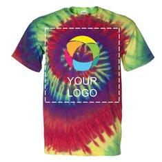 T-shirt à manches courtes Spirale multicolore Dyenomite