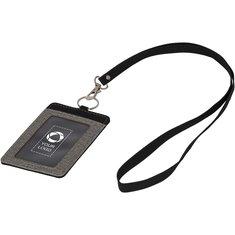 Bullet™ Heathered Badge Holder Set
