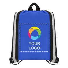 Polyester Drawstring Backpack with Full-Color Inkjet
