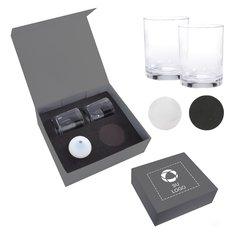 Kit para whisky con hielo esférico