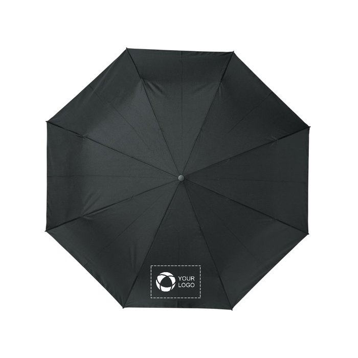 "Avenue™ Bo 21"" foldable auto open/close recycled PET umbrella"