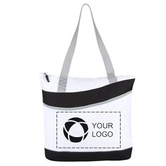 Upswing Zippered Convention Tote Bag