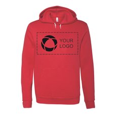 Bella + Canvas® Unisex Poly/Cotton Hooded Pullover Sweatshirt