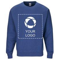 Premium-Sweatshirt mit angesetzten Ärmeln von Fruit of the Loom® mit einfarbigem Druck
