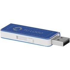 Memoria USB de 4 GB grabada con láser Glide de Bullet™