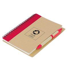 Priestly anteckningsbok med penna