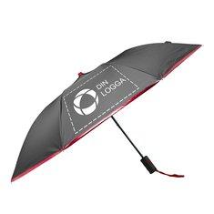 Avenue™ Spark paraply med automatisk uppfällning och teleskopskaft i två sektioner