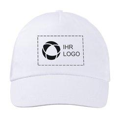 Baseball-Cap Basic aus Baumwolle mit einfarbigem Druck von Bullet™