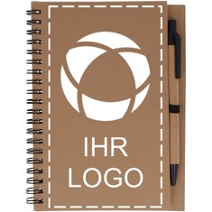 Recycling-Notizbuch Bloquero mit Stift