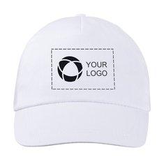 Gorra básica de algodón de Bullet™ con estampado monocolor