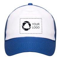 Cappellino a cinque spicchi con stampa monocolore Trucker Bullet™