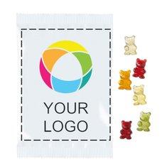 Fruktgodis gummibjörnar Premium XXL, förpackning med 25 st.