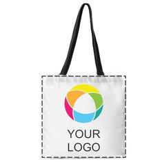 Borsa shopper con stampa a colori