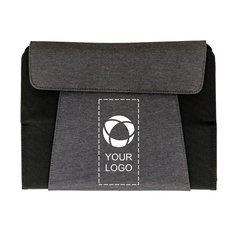 Schreibmappe Kyoto für 10-Zoll-Tablets mit kabelloser Ladefunktion