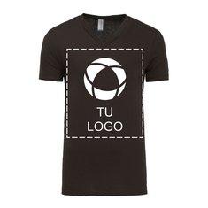 Camiseta unisex de manga corta, cuello en pico y tela jersey de Bella + Canvas®.