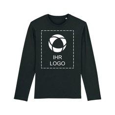Langärmeliges Herren-T-Shirt Stanley Shuffler Iconic mit einfarbigem Druck