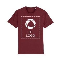 Stanley/Stella Creator iconisch uniseks veganistisch T-shirt met drukwerk in 1 kleur