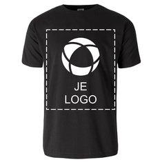 Fruit of the Loom® 100% Katoen Heren-T-shirt met korte mouwen en enkele kleuropdruk