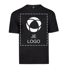 Tee Jays® Fashion Sof T-shirt met enkele kleuropdruk