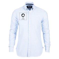 Herrenhemd Indigo Bow 32 Regular Fit von J. Harvest & Frost mit einfarbigem Druck