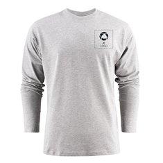 Printer Heavy T-shirt met lange mouwen