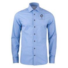 J.Harvest & Frost lilla Bow 141 skjorte med slank pasform enkeltfarvetryk