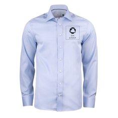 J. Harvest & Frost Green Bow 01 Regular Fit skjorta i herrmodell med enfärgat tryck