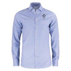 J. Harvest & Frost Purple Bow 48 Regular Fit-skjorta med enfärgat tryck