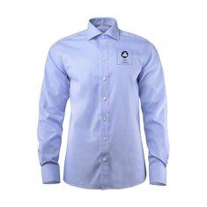 J.Harvest & Frost Yellow Bow 50 Slim Fit skjorta med enfärgat tryck
