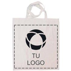 Bolsa de compras de algodón orgánico