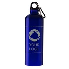 Pacific 770 ml Bottle with Carabiner and Laser Engraving