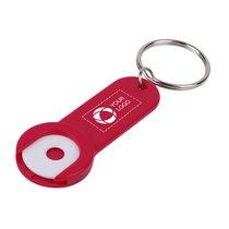 Porte-clés avec jeton Shoppy Bullet™