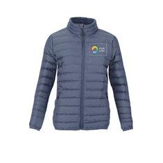 Women's Puffer Jacket with Full Heat Transfer Print