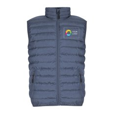Promotique™ Puffer Vest with Full Colour Overlay Print