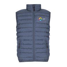 Women's Puffer Vest with Full Heat Transfer Print