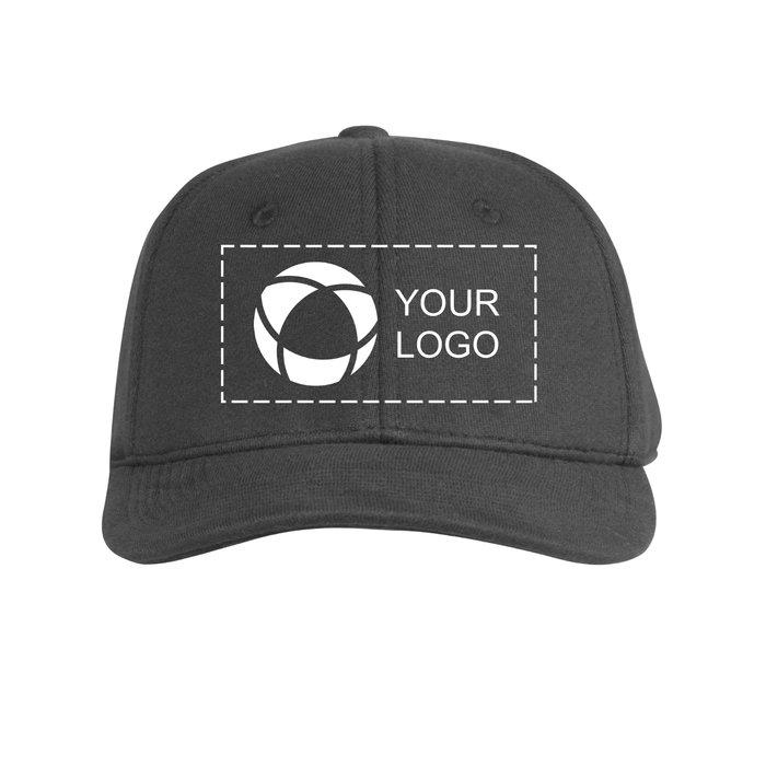 Beechfield Jersey Athleisure Baseball Cap with Single-Colour Print