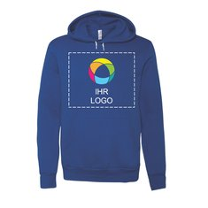 Unisex-Kapuzensweatshirt aus Polyester und Baumwolle von Bella + Canvas®