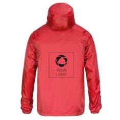 Printer Fastplant jakke med termotryk i farver til herrer