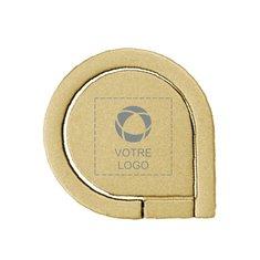 Support de téléphone avec anneau Drop gravé au laser