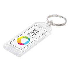 Convex Keyring Full Color Insert Print