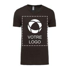 T-shirt unisexe en jersey à manches courtes et à col en V de Bella + Canvas®