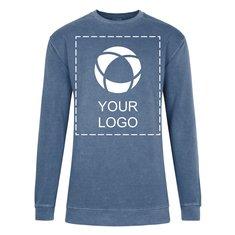 Comfort Colors™ plaggfärgad tröja med rund halsringning, ringspunnen bomull