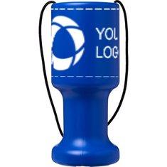 Bullet™ Asra Handheld Plastic Charity Container