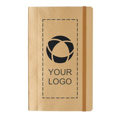 Luksus metallisk notesbog med blødt omslag