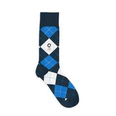 Custom Crew Knitted Argyle Socks