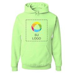 Sudadera con capucha NuBlend® de JERZEES® con impresión a todo color