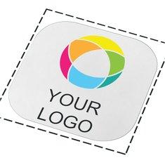 Sottobicchiere quadrato con stampa a colori Brite-Mat®