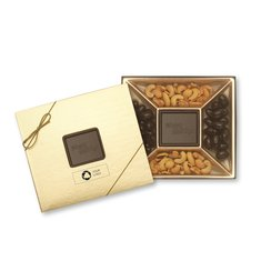 Happy Holidays Small Chocolate Confections Gift Box, Case of 25
