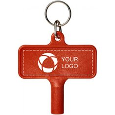 Bullet™ Largo Plastic Radiator key With keychain
